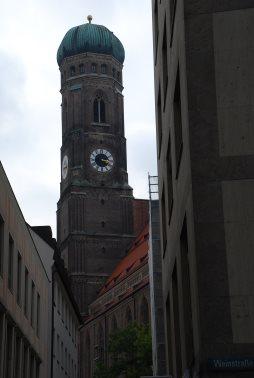 München: Die Frauenkirche, zumindest ein Teil davon...