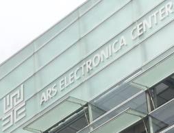 Linz: Gebäude des ars electronica center