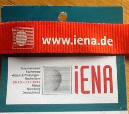 Erfindermesse iena Nürnberg 2015
