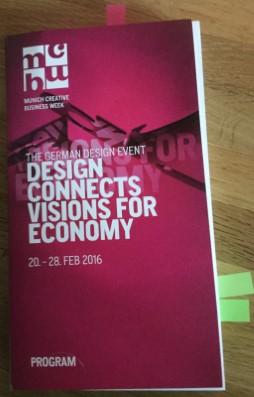 Katalog MCBW 2016: Munich Creative Business Week